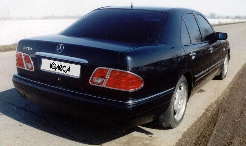 Класса второго поколения в кузове w210